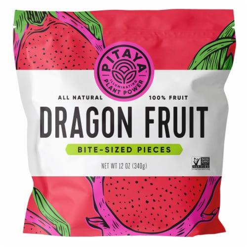 PitayaPlus Dragon Fruit Bite Size Fruit Cubes Perspective: front