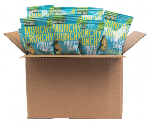 Rockin' Ranch 30-Packet Munchy Crunchy Protein Snack Perspective: front