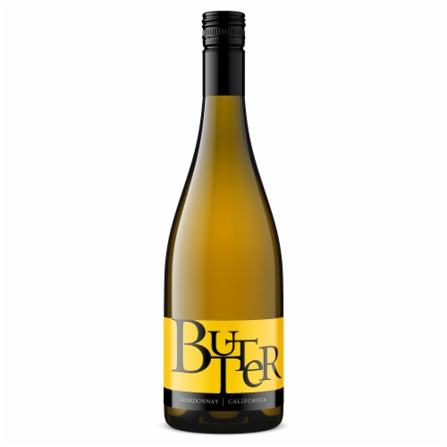Jam Cellars Wine Butter California Chardonnay White Wine Perspective: front