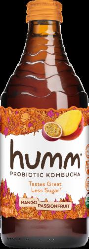 Humm Kombucha Mango Passion Fruit Probiotic Kombucha Perspective: front