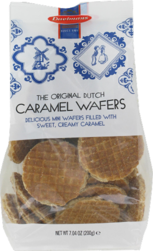 Daelman's Dutch Carmel Wafer Minis Perspective: front