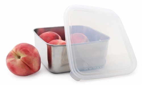 U Konserve  To-Go Container Large Clear Perspective: front
