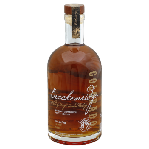 Breckenridge Brewery Bourbon Whiskey Perspective: front