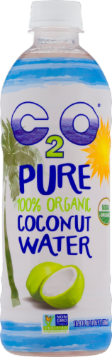 C2O Pure Organic Coconut Water Perspective: front