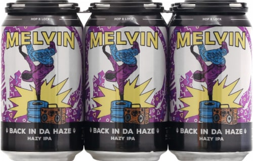 Melvin Brewing Back In Da Days Hazy IPA Beer Perspective: front
