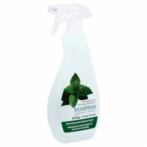 Ecomax Natural Spearmint Bathroom Cleaner Perspective: front
