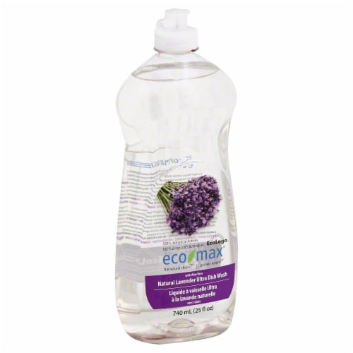 Ecomax Natural Lavender Dish Soap Perspective: front