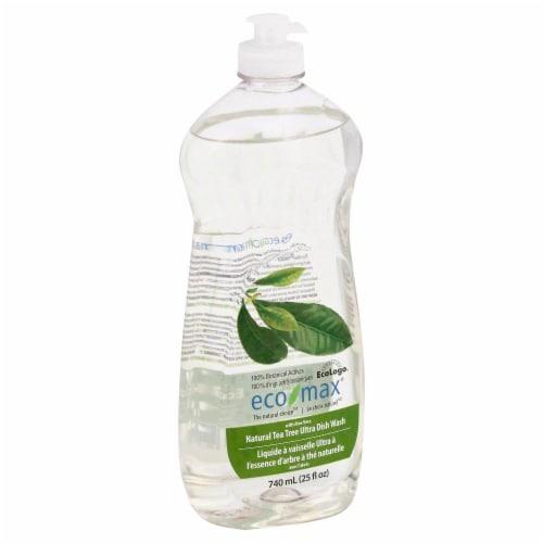Ecomax Natural Tea Tree Ultra Dish Wash Perspective: front