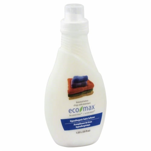 Ecomax Hypoallergenic Fabric Softener Perspective: front