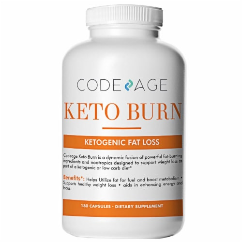 Codeage Keto Burn Capsules Perspective: front