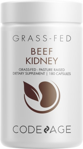 Codeage Grass-Fed Beef Kidney Dietary Supplement Perspective: front