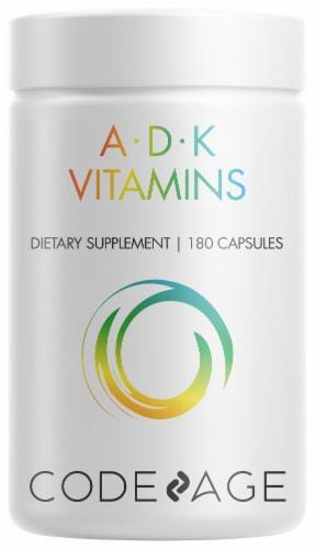 Codeage ADK Vitamins Non-GMO Multivitamin Capsules Perspective: front