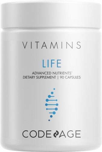 Codeage Life Vitamin Capsules Perspective: front
