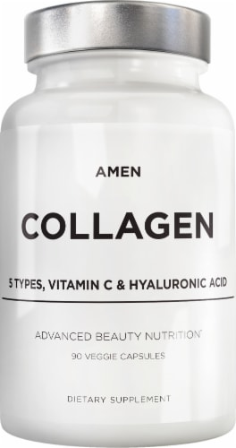 Codeage Amen Collagen Advanced Beauty Nutrition Dietary Supplement Perspective: front