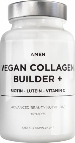 Codeage Amen Vegan Collagen Builder Advanced Beauty Nutrition Dietary Supplement Perspective: front