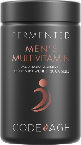 Codeage Fermented Men's Vegan Multivitamin Perspective: front