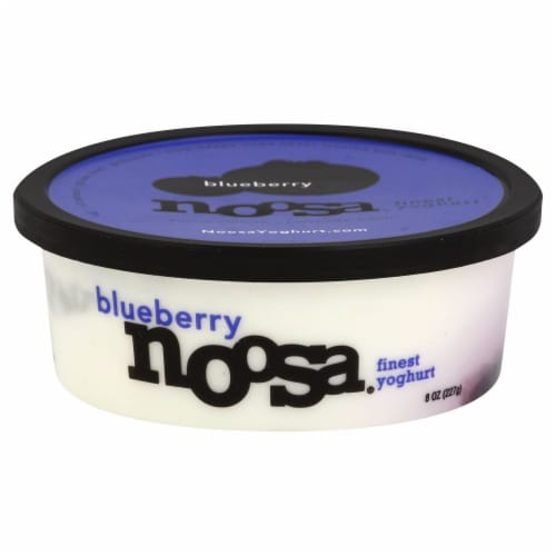 Noosa Blueberry Yoghurt Perspective: front