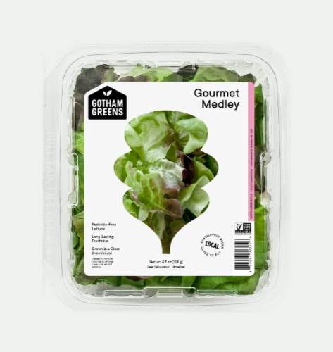 Gotham Greens Gourmet Medley Lettuce Perspective: front