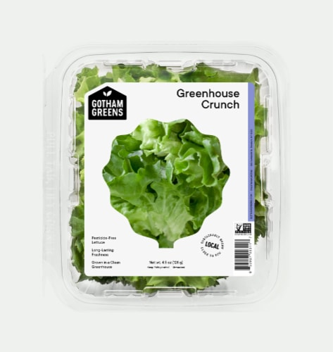 Gotham Greens Rocky Mountain Crunch Lettuce Perspective: front