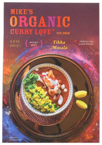 Curry Love Organic Mildly Spicy Tikki Masala Sauce Perspective: front