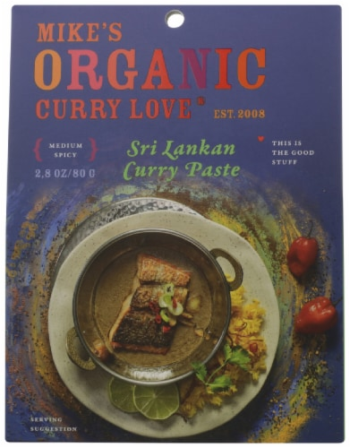 Mike's Organic Foods Sri Lankan Curry Paste Perspective: front