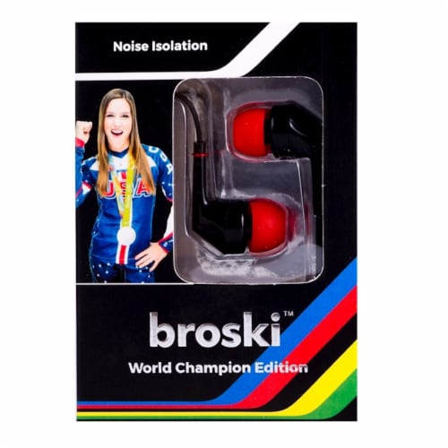 broski Hands Free Earphone - Assorted Perspective: front