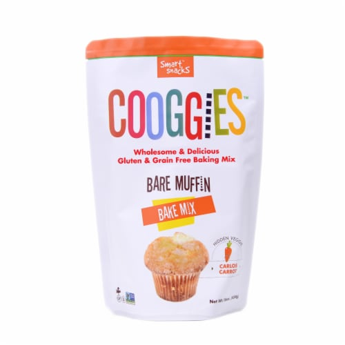 Cooggies Bare Muffin Bake Mix Perspective: front