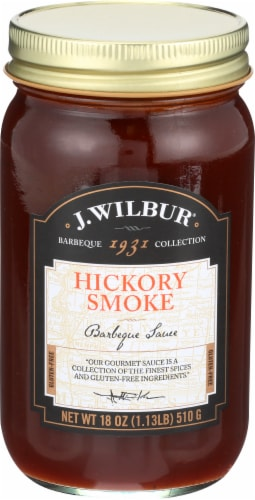 J. Wilbur Hickory Smoke Barbecue Sauce Perspective: front