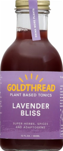 Goldthread Herbs Plant Based Tonics Lavender Bliss Perspective: front