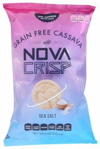 Nova Crisp Grain Free Sea Salt Cassava Chips Perspective: front