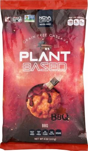 NOVA CRISP Grain Gree BBQ Cassava Crisps Perspective: front