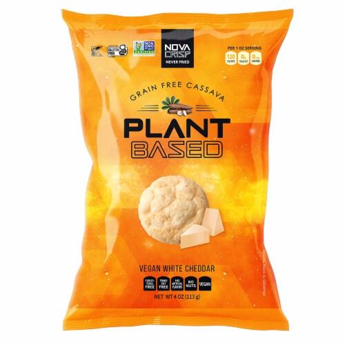 NOVA CRISP Grain Free White Cheddar Cassava Crisps Perspective: front