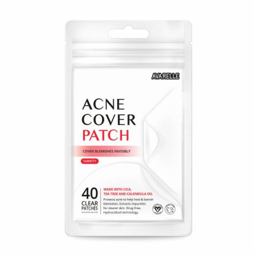 Avarelle Acne Cover Variety Patches Perspective: front