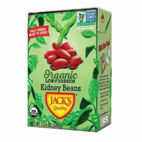 Jack's Quality Red Kidney Beans Perspective: front
