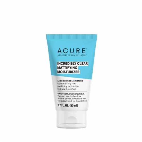 Acure Incredibly Clear Mattifying Moisturizer Perspective: front