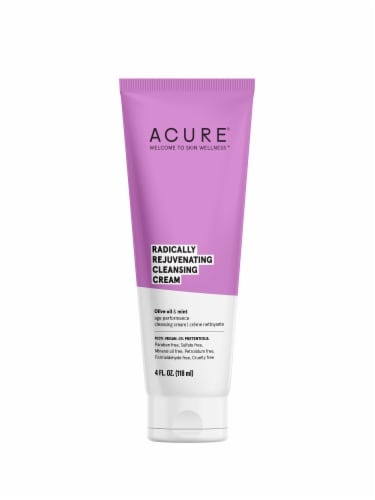 Acure Radically Rejuvenating Cleansing Cream Perspective: front