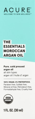 Acure Organic The Essentials Moroccan Argan Oil Perspective: front