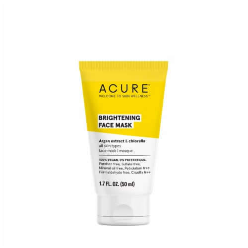 Acure Brightening Face Mask Perspective: front