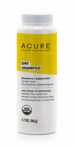 Acure Rosemary & Peppermint Dry Shampoo Perspective: front