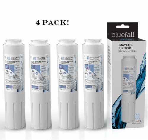 Maytag UKF8001 4PK Refrigerator Water Filter Compatible by BlueFall Perspective: front