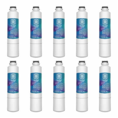 Samsung DA29-00020B 10PK Refrigerator Water Filter Compatible by BlueFall Perspective: front