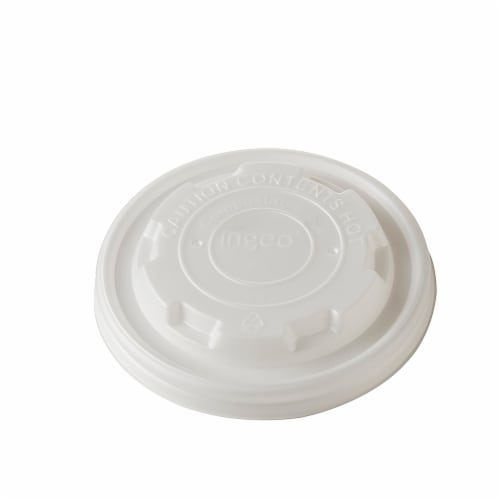 LID for 8 oz. Hot Paper Bowl (1000 Count) Perspective: front