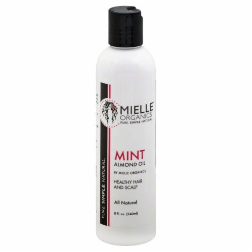 Mielle Organics Mint Almond Oil Healthy Hair and Scalp Perspective: front