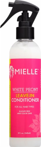 Mielle Organics White Peony Leave-In Conditioner Perspective: front
