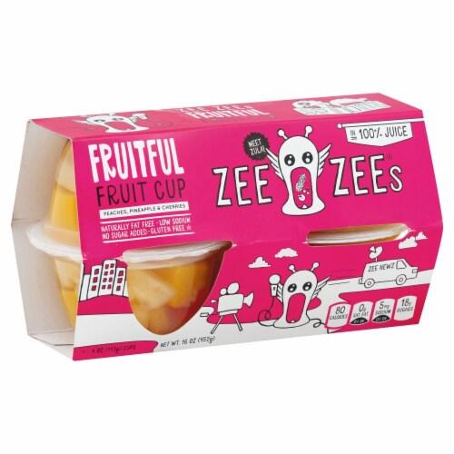 Zee Zee's Fruitful Fruit Cup Perspective: front
