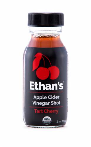 Ethan's Tart Cherry Apple Cider Vinegar Shot Perspective: front