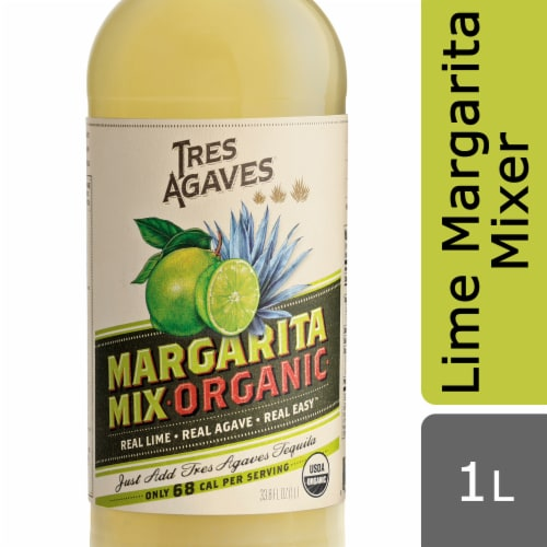 Tres Agaves Organic Margarita Mix Perspective: front