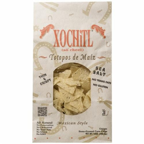Xochitl® Salted Corn Tortilla Chips Perspective: front