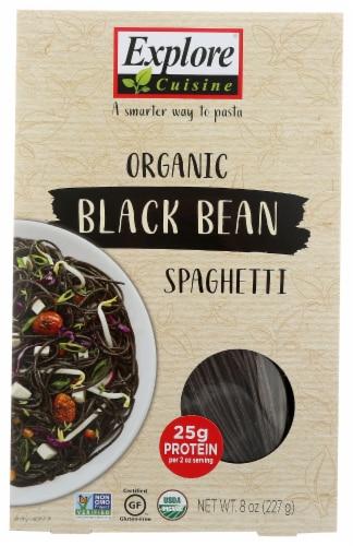 Explore Cuisine Organic Black Bean Spaghetti Perspective: front