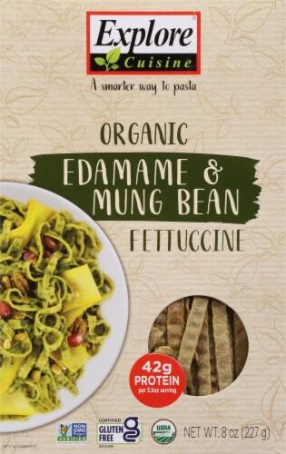 Explore Cuisine Organic Edamame & Mung Bean Fettuccine Perspective: front
